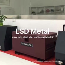 großer Metallarbeitsplatz-Werkzeugkasten für LKW großer Metallarbeitsstandort-Werkzeugkasten für LKW