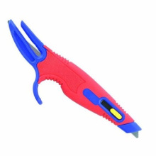 Multi Function Double Color Safety Box Cutter