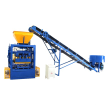 QTF4-24 easy operate semi automatic concrete hollow block making machine