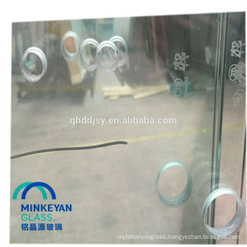 hot selling high quality tempered glass kitchen sink