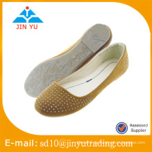 Nizza Art China Schuh Lieferanten Großhandel Ballerina Schuh Dame Kleid Schuh