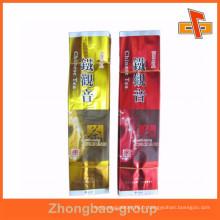 Meilleur sac à thé chinois biodégradable à l'aspiration avec impression CMJN