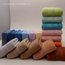 Pure Cotton 3-Piece Towel Sets Fade Resistant Towels