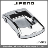 JF-042 zinc alloy wholesale metal ashtray for cigar