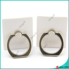 360 Degree Rotion White Smart Finger Ring Holder (SPH16041109)