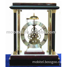 Wooden Table Clock with bell  M-8001
