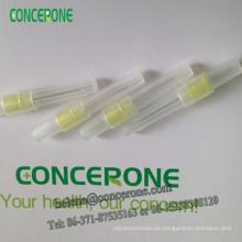 Aguja dental disponible, aguja anestésica dental, aguja dental anestésica