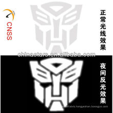customized transformers heat transfer reflective printing