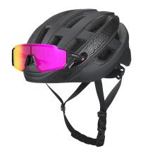 Los cascos de bicicleta de carretera personalizados negros más ligeros
