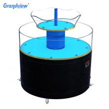 5L  transparent large volume  seafood tank with air pump