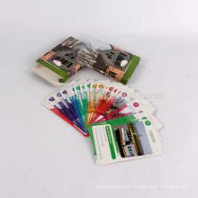 Изготовленное На Заказ Печатание Размера Покер Игральных Карт