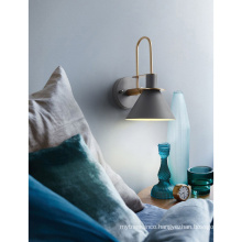 Nordic Modern Simple Led sconce light Indoor Living Room Bedside Iron Wall lamps