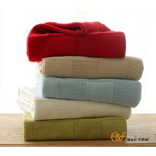 Hot Sale Healthy Travel Cotton Soft Blanket