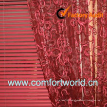 Embroidery Fashion Curtain Voile