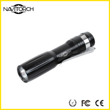 Multi cores delicadas recarga tocha edc / led lanterna (nk-209)