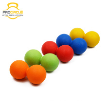 Silicone Physio Therapy Double Lacrosse Massage Ball