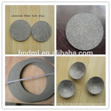 Stainless Steel Sintered Non-woven Fiber Felt Filter Mesh
