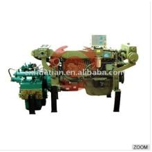 Motor diesel marinho 120hp com caixa de engrenagens
