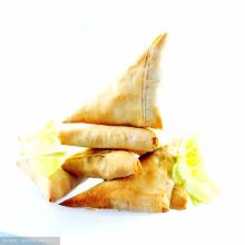 2014 vente chaude de haute qualité halal congelé samosa