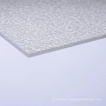 Feuilles de polycarbonate Feuilles d'acrylique Feuille solide Feuilles compactes Fabricant