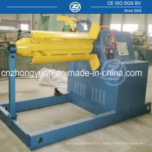 Decoiler hydraulique 10ton pour machine à former des rouleaux