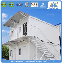 Cheap stackable 3 floors construction site prefabricated house