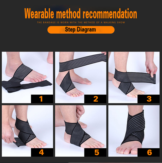 Compression Ankle Wrap Support