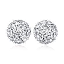 Cadeaux de Noël Ensemble de bijoux de zircon cubiques et bijoux Boucles d'oreilles à la mode Pendentif Collier Bracelet Sets