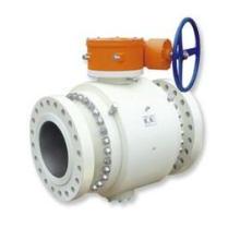 Válvula de bola montada en muñón de entrada lateral de turbina API 6D