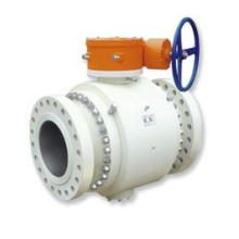 API 6D Turbine Side Entrance Trunnion Monté Ball Valve