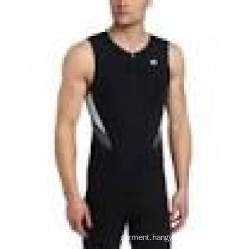 Factory Hot Sale High Quality Plain Man′s Sexy Muscle Screen Printing Singlet