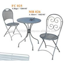 Metal furniture - garden set & bistro set