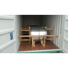 Sea Blue / White / Red Prepainted Galvanized Steel Coil PPGI