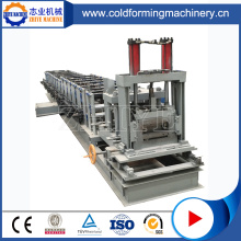 Galvanized Metal C U Z Purlin Cold Forming Machine