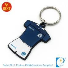 China Custom Personalizado Marca promocional Macio PVC Chaveiro ou Anel em Alta Qualidade