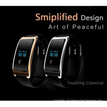 À prova d 'água USB embutido Wechat Monitor de Heatrate Interconexão O Monitoramento do Sono Bluetooth Super-Long Standby Smart Watch Android