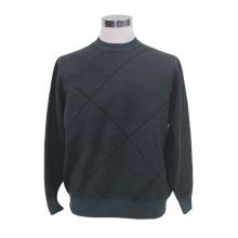 Lã de iaque / cashmere em torno do pescoço camisola de manga comprida / vestuário / roupa / malhas