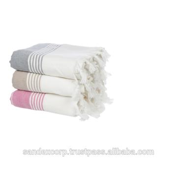 Полосатые полотенца Fouta
