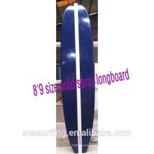 8'9 tamaño sólido aerosol longboard surfboards china sup bordo EPS núcleo de espuma