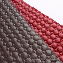 Chine fournisseur multicolore matelassé célèbre marque tissu downproof élégant