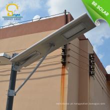 Super brilho de alta qualidade levou integrado luz de rua solar