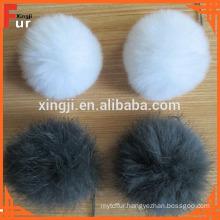 Low Price wholesale Rabbit Fur Pom Pom