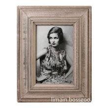 Wooden Photo Frame, 18 x 23, 25.5 x 20.5cm, Freestanding