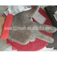 Chain link stainless steel butcher hand gloves