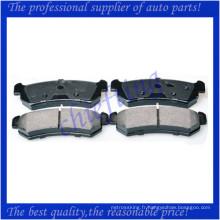 D1036 96405131 3746 plaquette de frein de haute qualité pour daewoo lacetti