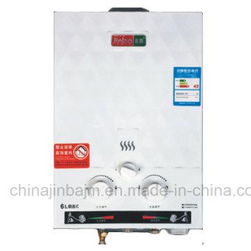 Chauffe-eau à gaz instantané (JSD-V7) de 6 litres à basse pression