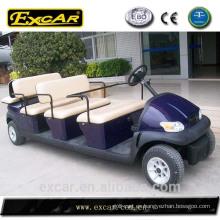 Autobús de turismo turístico eléctrico del coche del golf del CE 8 + 3 asientos