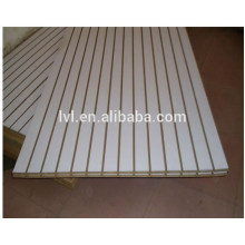 17mm Highest quality Slotted MDF board for supermarket