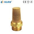 Bsl 1/4 de polegada de bronze material baixo preço exaustor silenciador