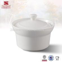 cuencos de sopa de guisado de cerámica con tapas